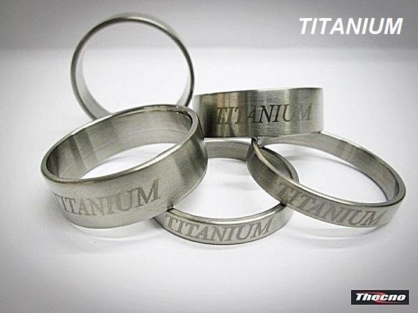 Cod:SP8-5TIT - SPESSORI FORCELLA IN TITANIO 1/8  SP8-5TIT - Thecnoline