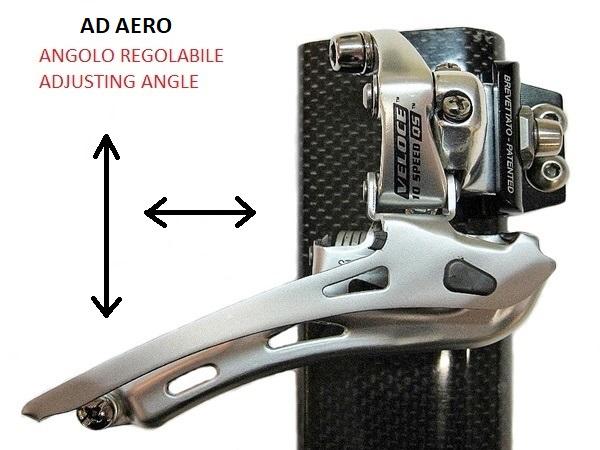 Cod:AD-AERO - ATTACCO DERAGLIATORE AD-AERO BREVETTATO AD-AERO - Thecnoline